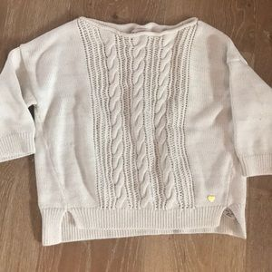 Girls Juicy boat neck sweater